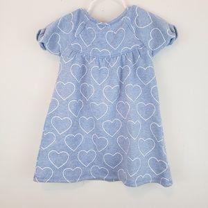7c39e90a Tucker + Tate Dresses - Tucker + Tate | Toddler Girls Blue & White Heart